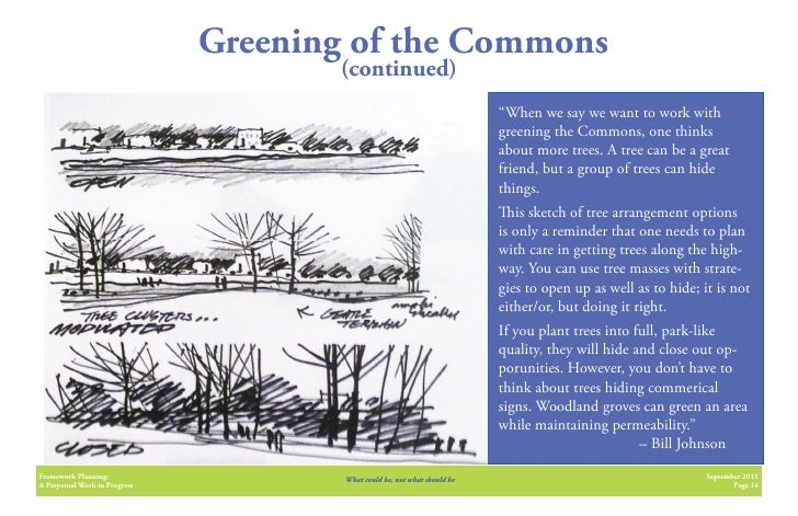 Greening of the Commons                                      (continued)                                                  ...