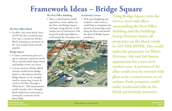 Framework Ideas – Bridge Square                                           e Post O ce Building              An Identity Co...