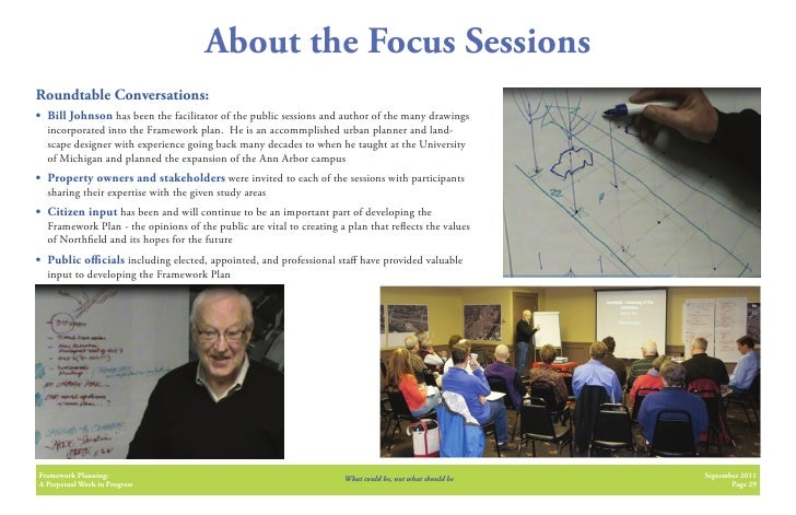 About the Focus SessionsRoundtable Conversations:• Bill Johnson has been the facilitator of the public sessions and author...