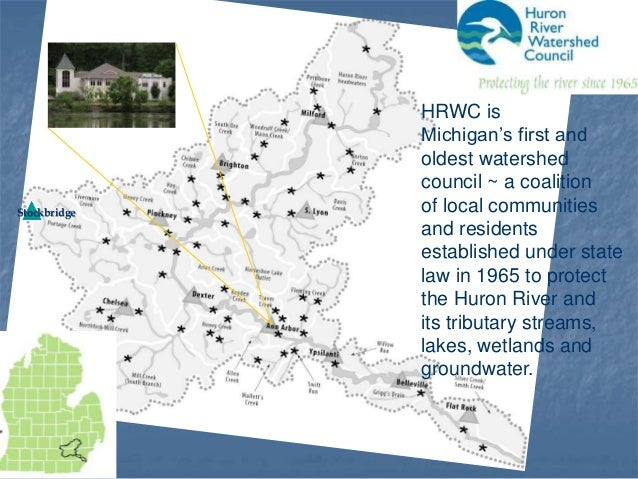 Huron River Watershed Council: Green Infrastructure in Northfield Township Slide 2