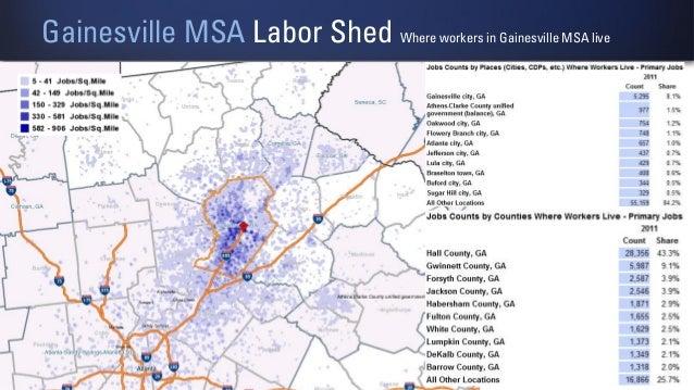 North Georgia Digital Economy Presentation - Georgia msa map