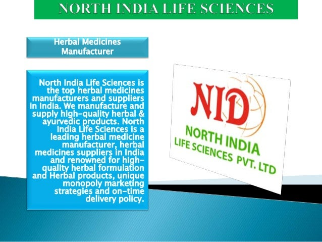 North India Life Sciences is the top herbal medicines manufacturers and suppliers in India. We manufacture and supply high...