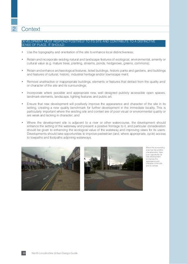 North Lincolnshire Urban Design Guide