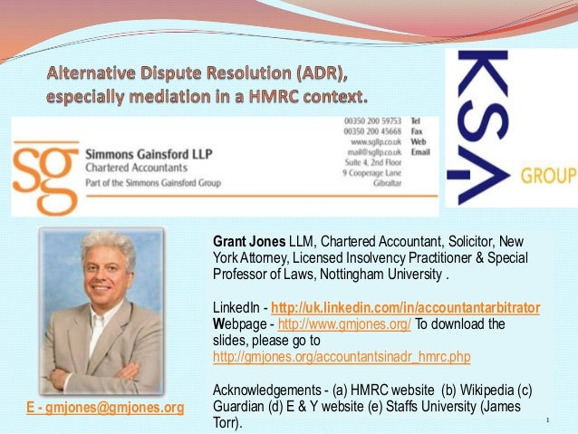 Grant Jones LLM, Chartered Accountant, Solicitor, NewYork Attorney, Licensed Insolvency Practitioner & SpecialProfessor of...