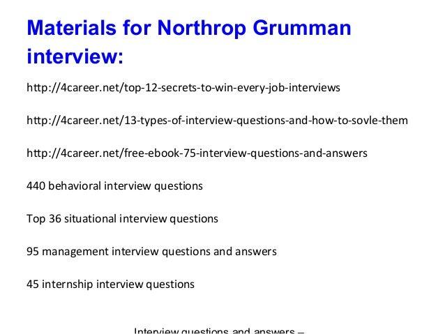 Northrop Grumman Job Offer After Interview