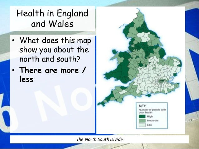 north south divide 8 health in england