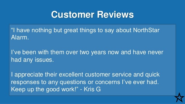 Northstar Alarm Reviews And Stories