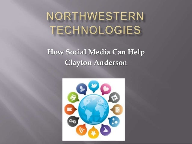 How Social Media Can Help Clayton Anderson
