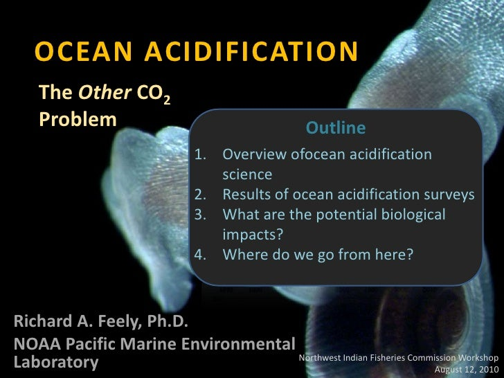 OCEAN ACIDIFICATION<br />The Other CO2 Problem<br />Outline<br />Overview ofocean acidification science<br />Results of oc...