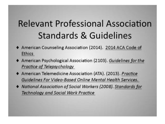 National association of social workers code of ethics
