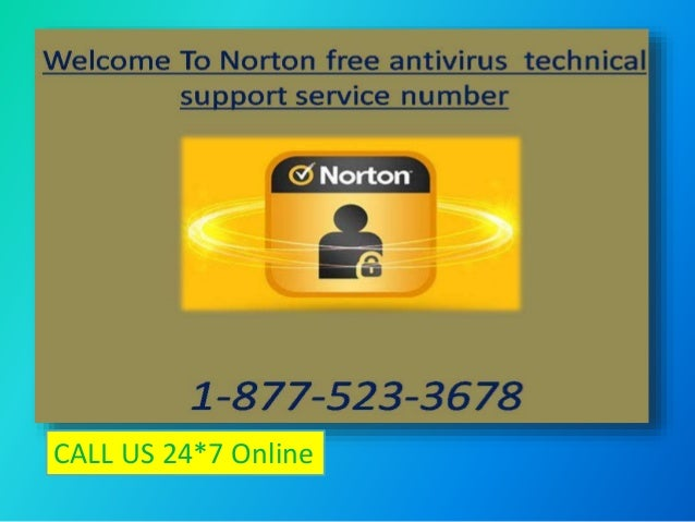 1 877 523 3678 Norton Free Antivirus Contact Number