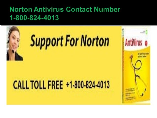 Norton Antivirus Contact Number 1 800 824 4013