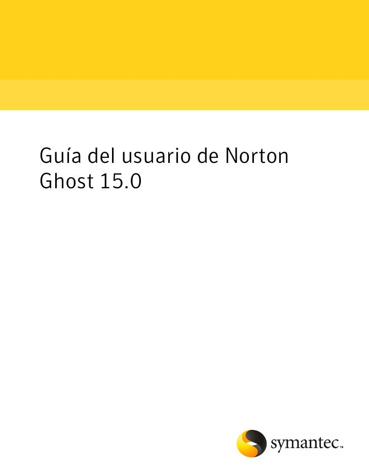 Norton Ghost v15