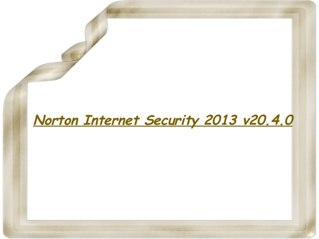 Norton Internet Security 2013 v20.4.0