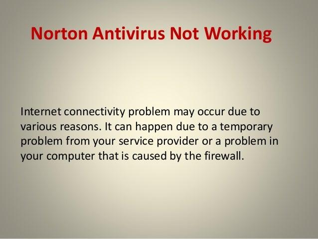 norton antivirus not updating