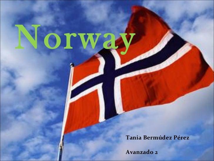 Norway     Tania Bermúdez Pérez     Avanzado 2
