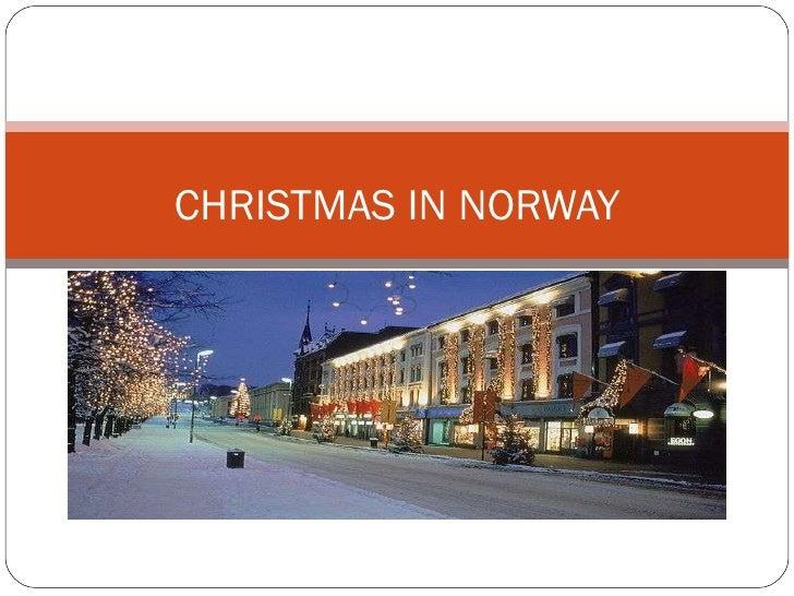 Christmas In Norway.Norwegian Christmas