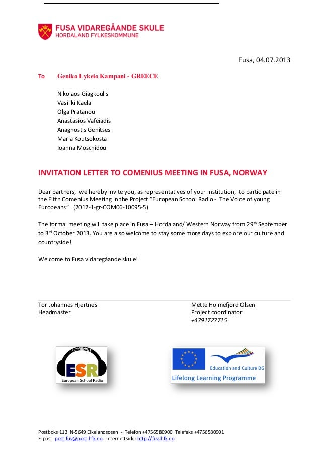 Norwegian invitation letter for greece norwegian invitation letter for greece fusa 04072013 to geniko lykeio kampani greece nikolaos giagkoulis vasiliki kaela olga stopboris Choice Image