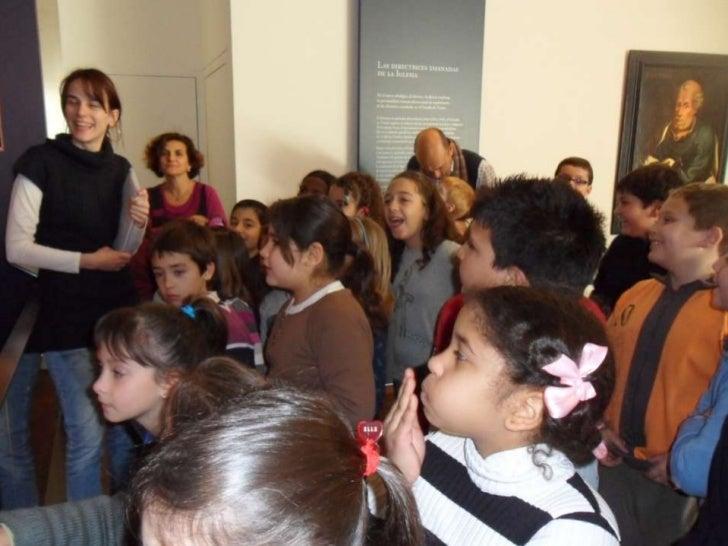 Objetivos deconocimientos   Descubrir qué es un museo   Conocer la función y significación de las imágenes   Conocer lo...