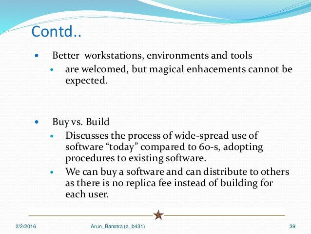 no silver bullet essence and accidents Brooks: no silver bullet—essence and accident in software engineering (1986) 6 slow turn-around, like machine-language complexities, is an accidental rather than an essential difficulty of the software process.