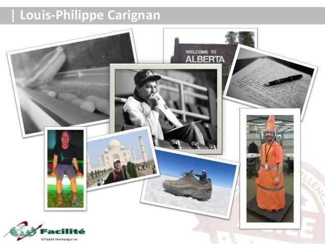 © Facilité Informatique inc. Louis-Philippe Carignan