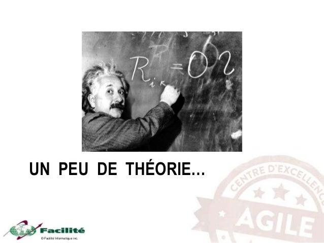 © Facilité Informatique inc. UN PEU DE THÉORIE…