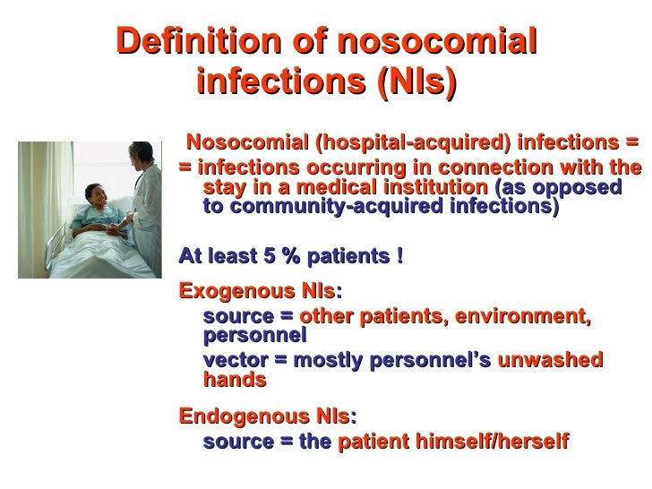 NOSOCOMIAL INFECTIONS DEFINITION EBOOK