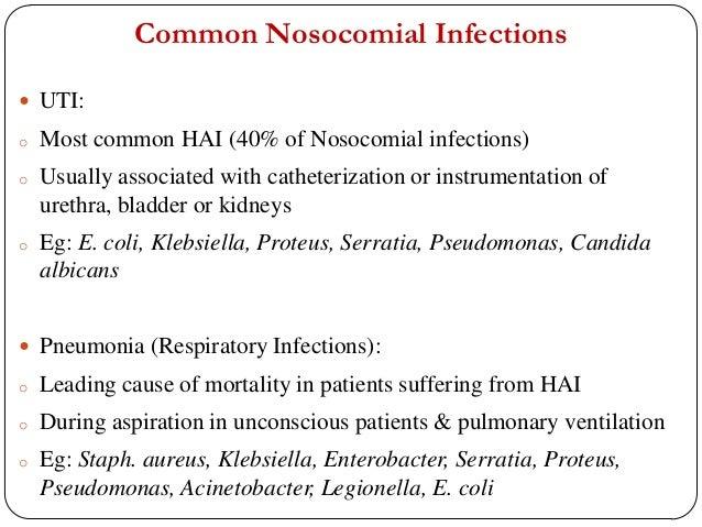 nosocomial infections statistics