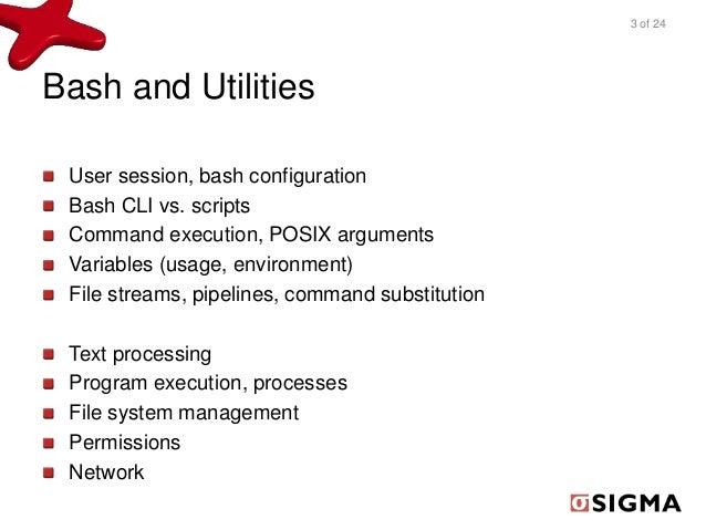 Linux Shell Basics