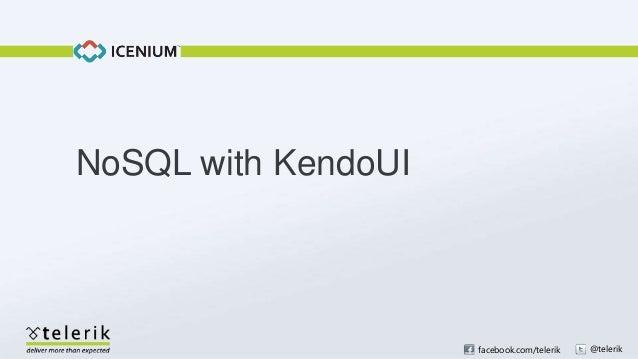 No SQL with Kendo UI