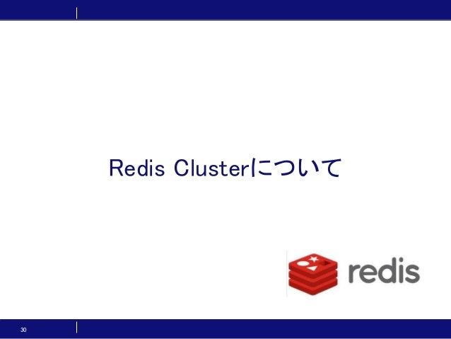 30 Redis Clusterについて