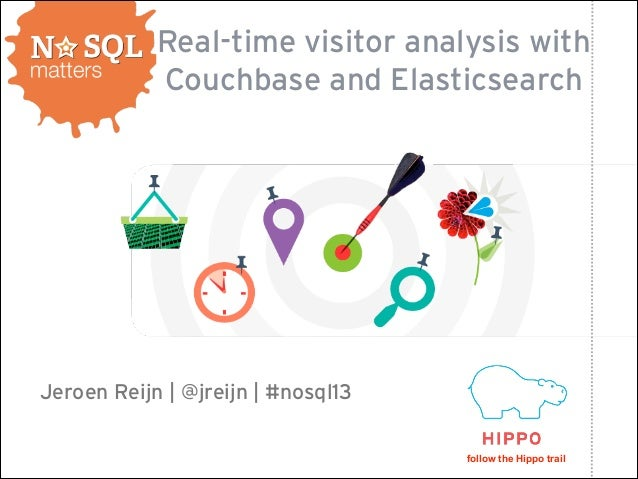 Real-time visitor analysis with Couchbase and Elasticsearch  Jeroen Reijn | @jreijn | #nosql13 follow the Hippo trail