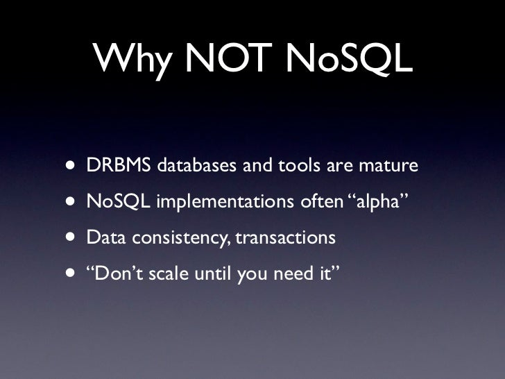 nosql databases thesis Document-oriented nosql databases performance analysis of mongodb and mysql using php thesis submitted in partial fulfillment of the requirements for the award of.