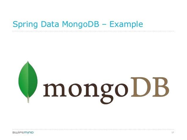 17Spring Data MongoDB – Example