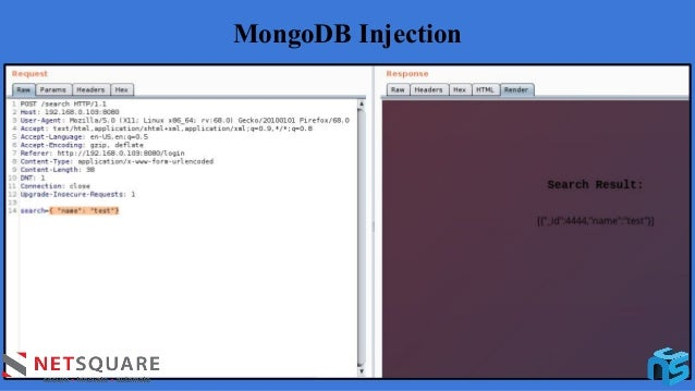 MongoDB Injection