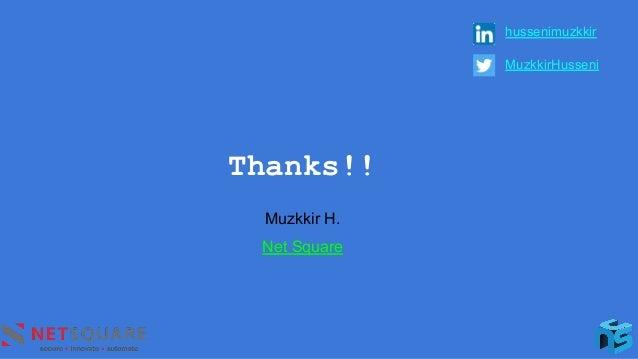 Thanks!! hussenimuzkkir MuzkkirHusseni Muzkkir H. Net Square