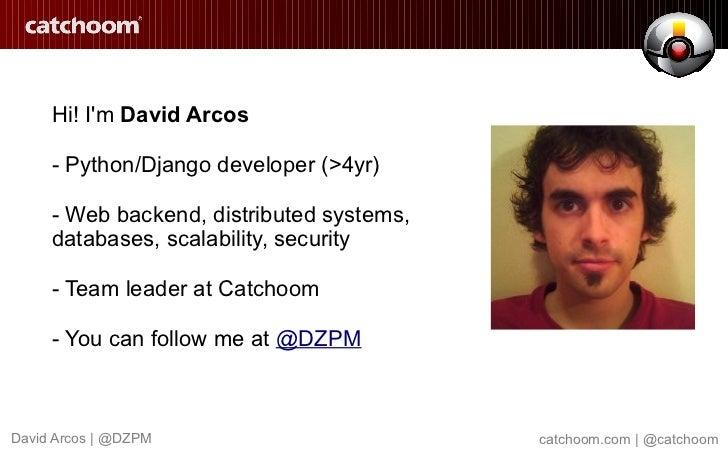 NoSQL matters in Catchoom Recognition Service Slide 3