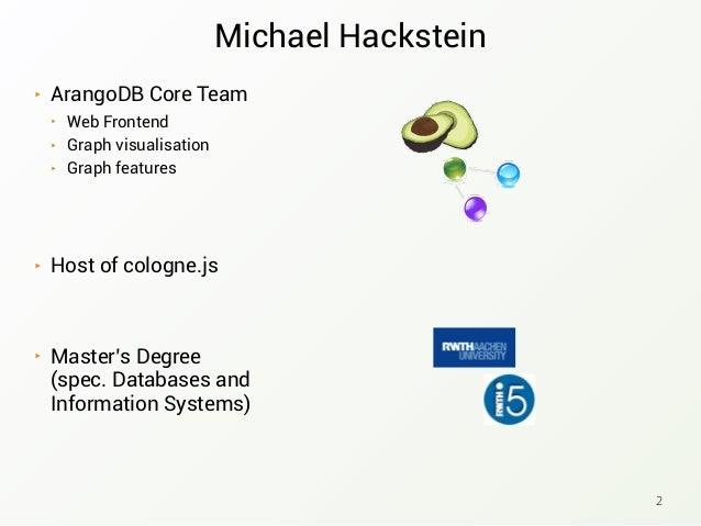 NoSQL meets Microservices - Michael Hackstein Slide 2