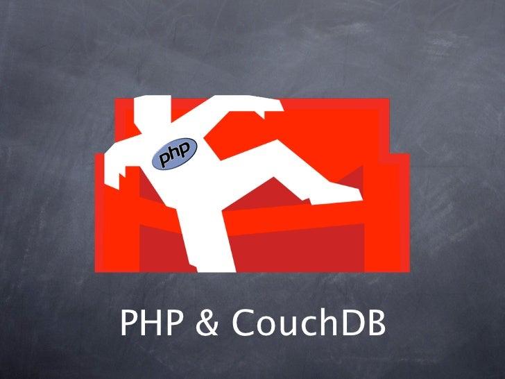 PHP & CouchDB