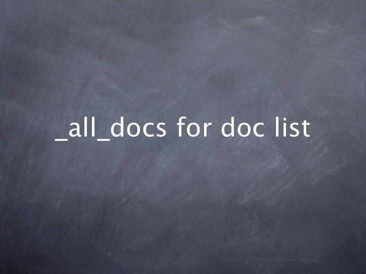 _all_docs for doc list