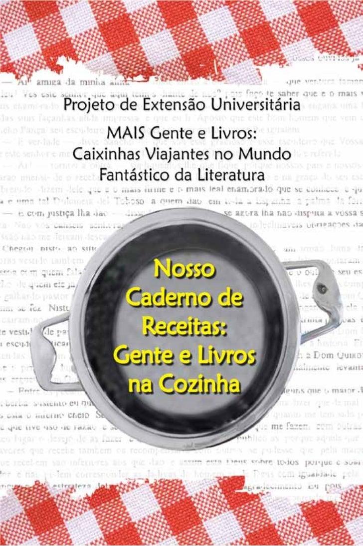 NOSSO CADERNO DE RECEITAS