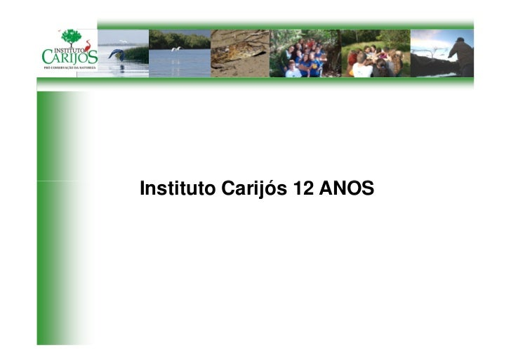 Instituto Carijós 12 ANOS