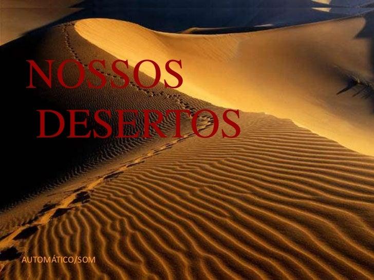 Nossos desertos 1