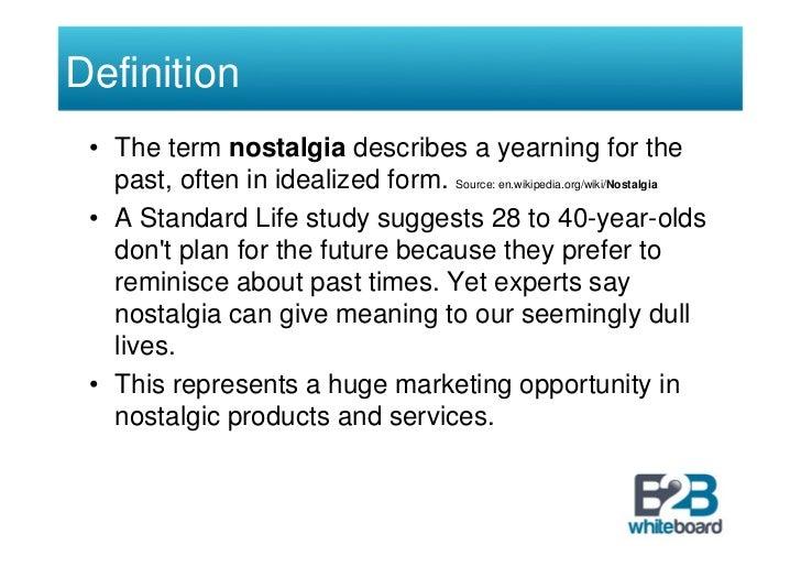 nostalgia marketing