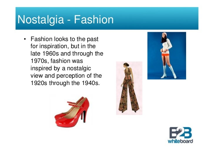 nostalgia marketing Marketing is not only about advertising having said that, today i wanted to  discuss a concept called nostalgia marketing, just because i find it.