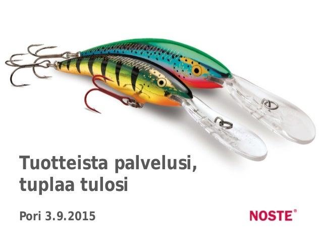 Sininen 336699 Punainen CC0000 Fontti MetaOTTuotteista palvelusi, tuplaa tulosi Pori 3.9.2015
