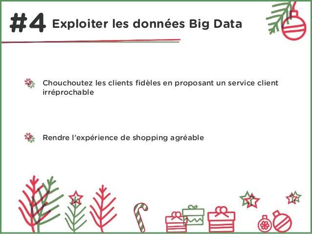 #4 Exploiter les données Big Data  Chouchoutez les clients fidèles en proposant un service client  irréprochable  Rendre l...