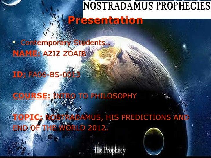 Presentation <ul><li>Contemporary Students.. </li></ul><ul><li>NAME:  AZIZ ZOAIB </li></ul><ul><li>ID:  FA06-BS-0013 </li>...