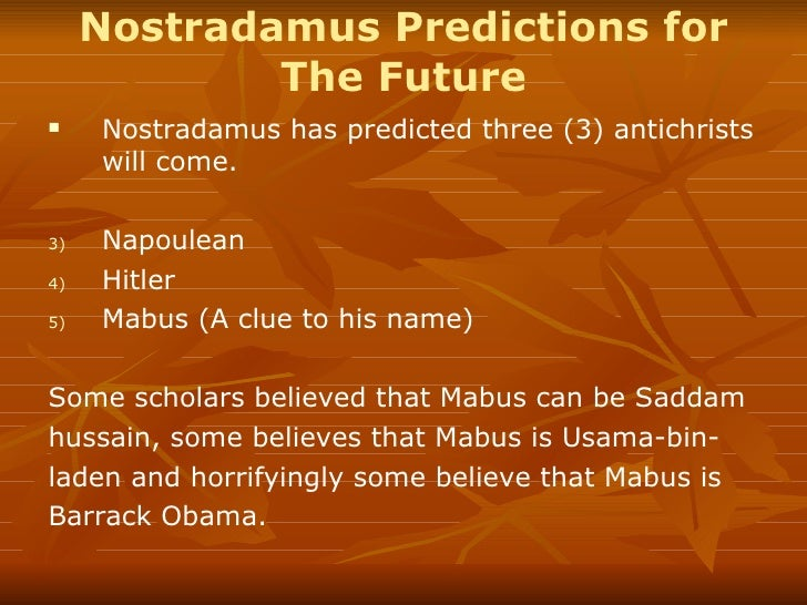 nostradamus essay Claim: nostradamus predicted the 9/11 attacks on the world trade center.