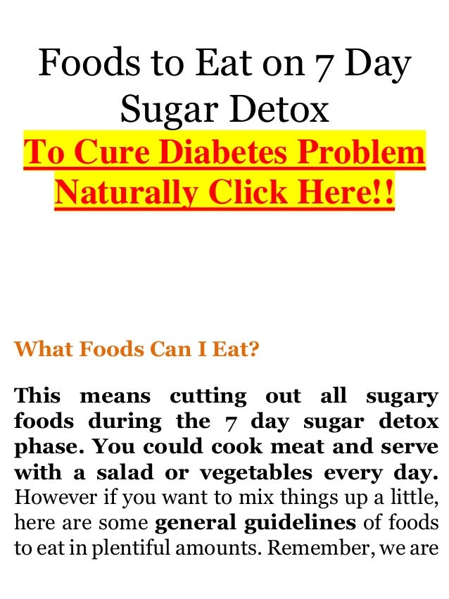 7 day meal plan for diabetics